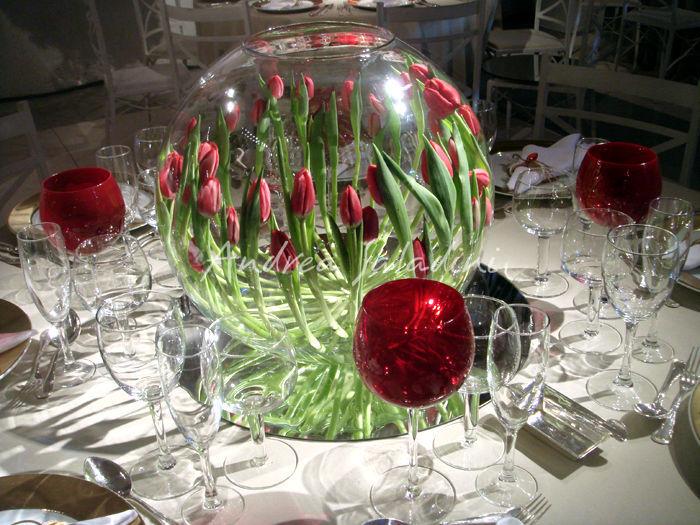 Arranjos de flores dani vi gas - Centros decorativos para mesas ...